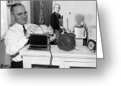 Bess Greeting Cards - Harry S. Truman (1884-1972) Greeting Card by Granger