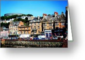 Picoftheday Greeting Cards - Oban Greeting Card by Luisa Azzolini