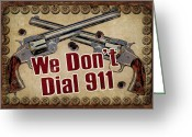 Don Greeting Cards - 911 Greeting Card by JQ Licensing
