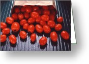 Kitchen Photos Greeting Cards - A Bag of Tomatoes Greeting Card by Steven Huszar