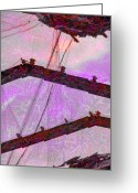 Netting Digital Art Greeting Cards - A Basic Ozone Generator  Greeting Card by Steve Taylor