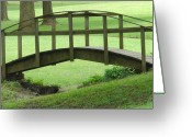 Bridge Greeting Cards - A Bridge in Washington County Greeting Card by Luciana Seymour