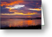Bonnes Eyes Fine Art Photography Greeting Cards - A Clemson Sky Greeting Card by Bonnes Eyes Fine Art Photography