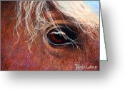 Western Pastels Greeting Cards - A Closer Look Greeting Card by Tanja Ware