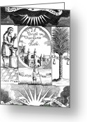 Bathe Greeting Cards - A Discourse Of Bathe, Balneology, 1676 Greeting Card by Science Source