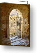 Surroundings Greeting Cards - A Gateway to.... Greeting Card by James Shepherd
