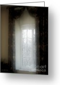 New England Digital Art Greeting Cards - A Hazy Shade of Winter Greeting Card by RC DeWinter