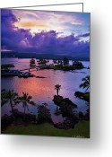 Christopher Holmes Photography Greeting Cards - A Hilo View Greeting Card by Christopher Holmes