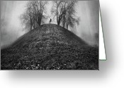 Kid Photo Greeting Cards - A Hope For The Eternal Presence Of Distant Places Greeting Card by Ioannis Lelakis