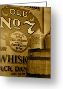 Jack Daniels Greeting Cards - A Little Jack is Good for the Soul Greeting Card by Staci-Jill Burnley
