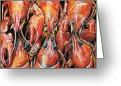 Photorealism Greeting Cards - A Meeting of the Minds Greeting Card by Baron Dixon