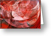 Motherhood Greeting Cards - A Mothers Womb . Square . A120422.446 Greeting Card by Wingsdomain Art and Photography