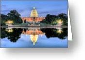 Representatives Greeting Cards - A Nation Awakens Greeting Card by JC Findley