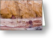 Grand Staircase - Escalante National Monument Greeting Cards - A Native Indian Food Storage Location Greeting Card by Taylor S. Kennedy
