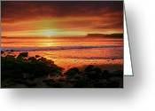 Northern Irish Art Greeting Cards - A new day Greeting Card by David McFarland