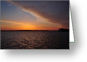 Morn Greeting Cards - A New Day Dawning Greeting Card by Bill Cannon