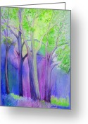 Maryann Stafford Greeting Cards - A New Day Greeting Card by MaryAnn Stafford
