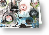 New Britain Mixed Media Greeting Cards - A New Paradigm Greeting Card by Jay Taylor