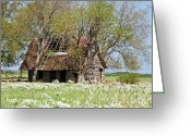 Old Relics Greeting Cards - A Place Called Home Greeting Card by Lisa Moore