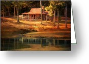 Porch Greeting Cards - A Place To Dream Greeting Card by Jai Johnson