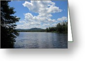 Landscape Photograpy Greeting Cards - A Room with a View  Greeting Card by Kathy Anderson