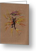 Fairies Greeting Cards - A Snit.... Greeting Card by Dawn Fairies