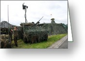 Belgian Army Greeting Cards - A Soldier Of The Belgian Army Greeting Card by Luc De Jaeger