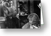 Brando Greeting Cards - A Streetcar Named Desire Greeting Card by Granger