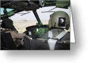 Control Greeting Cards - A U.s. Air Force Instructor Pilot Greeting Card by Stocktrek Images