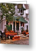 Manchester Greeting Cards - A Vermont Classic - Dorset Union Country Store Greeting Card by Thomas Schoeller