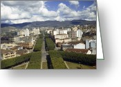 Pena Greeting Cards - A View Of Belo Horizontes Beautiful Greeting Card by W. Robert Moore