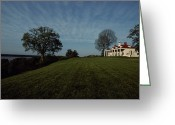 Of Buildings Greeting Cards - A View Of Mount Vernon, The Home Greeting Card by Medford Taylor