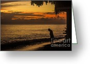 Sand Traps Greeting Cards - A Vow of Gratitude Greeting Card by Rene Triay Photography
