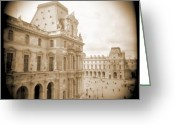 Lights Digital Art Greeting Cards - A Walk Through Paris 20 Greeting Card by Mike McGlothlen