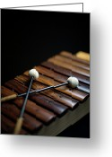 Xylophone Greeting Cards - A Xylophone Greeting Card by Studio Blond