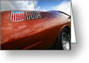 Runner Greeting Cards - AAR Cuda Greeting Card by Gordon Dean II