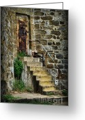 Historical Site Greeting Cards - Abandon hope Greeting Card by Paul Ward