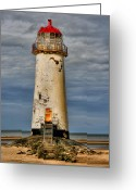 Talacre Digital Art Greeting Cards - Abandoned Greeting Card by Adrian Evans