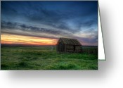 Falling Down Greeting Cards - Abandoned Beauty Greeting Card by Thomas Zimmerman