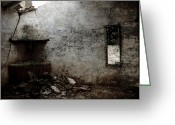 Abandoned Buildings Greeting Cards - Abandoned little house 3 Greeting Card by RicardMN Photography