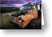 Ute Greeting Cards - Abandoned Greeting Card by Tim Nichols