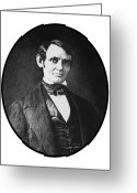 United States Presidents Greeting Cards - Abe Lincoln As A Young Man  Greeting Card by War Is Hell Store
