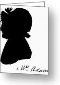 (first Lady) Greeting Cards - Abigail Adams Greeting Card by The Granger Collection