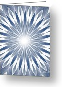 Illusion Illusions Greeting Cards - Abstact 3 Greeting Card by Kristin Kreet