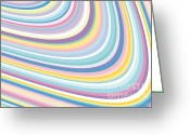 Award Digital Art Greeting Cards - Abstract-01 Greeting Card by Eakaluk Pataratrivijit