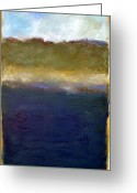 Beachy Greeting Cards - Abstract Dunes ll Greeting Card by Michelle Calkins
