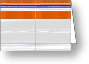 Tasteful Greeting Cards - Abstract Way Greeting Card by Irina  March