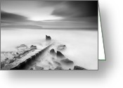 Northern Ireland Greeting Cards - Abyss Greeting Card by Pawel Klarecki