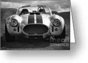 Carroll Shelby Photo Greeting Cards - AC Cobra 427 Greeting Card by Sebastian Musial
