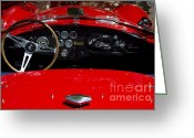Carroll Shelby Photo Greeting Cards - AC Cobra Greeting Card by Dennis Hedberg